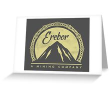 Erebor Mining Company Greeting Card