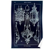 A Handbook Of Ornament With Three Hundred Plates Franz Sales Meyer 1896 0390 Metal Objects Pendant Lamp Inverted Poster