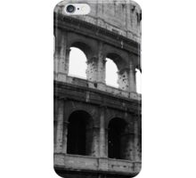Before entering the Colosseum iPhone Case/Skin