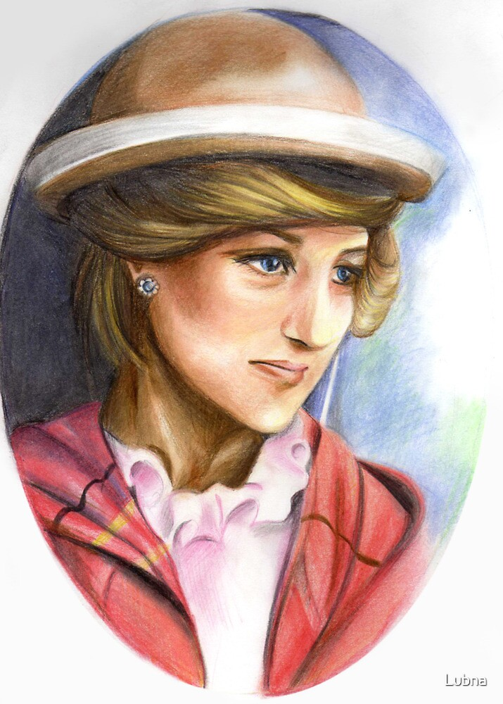 Lady Diana: Third of three series by Lubna