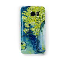 Still life with green Apple Samsung Galaxy Case/Skin