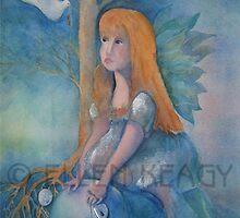 The dove with the golden key by Ellen Keagy