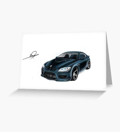 BMW Omar Edition Greeting Card