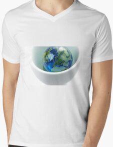East of Horizons Mens V-Neck T-Shirt