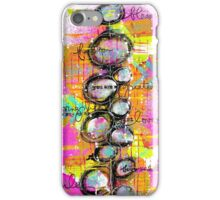 Mixed Media Abstract iPhone Case/Skin