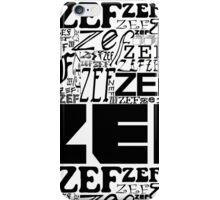 ZEFZEFZEF iPhone Case/Skin