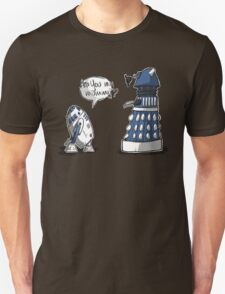 Are you my mummy? - BLUE version Unisex T-Shirt