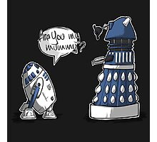 Are you my mummy? - BLUE version Photographic Print