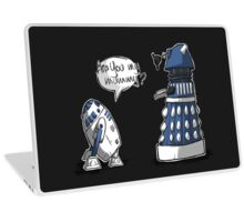 Are you my mummy? - BLUE version Laptop Skin