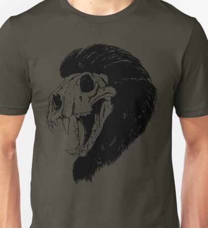 Lion Skull Unisex T-Shirt