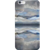 Stormy grey clouds iPhone Case/Skin