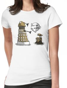 Are you my mummy? - GOLD version Womens Fitted T-Shirt