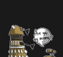 Are you my mummy? - GOLD version by ArryDesign