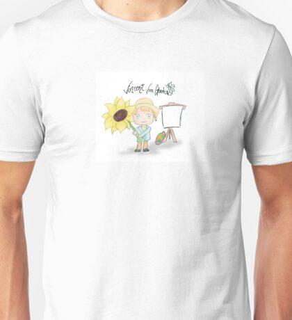 Vincent Van Gogh Unisex T-Shirt