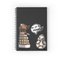 Are you my mummy? - ORANGE version Spiral Notebook