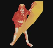 ACDC Angus Young Guitar by greenrasta