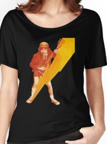 ACDC Angus Young Guitar Women's Relaxed Fit T-Shirt
