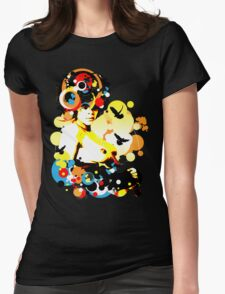 Onyx Doves Womens Fitted T-Shirt