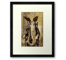 The Satanist by Pierre Blanchard Framed Print
