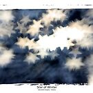Star of Winter - Abstract Fantasy Art Print by Christian Bodden