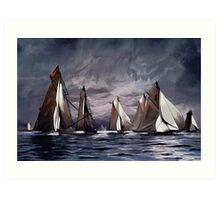 Sea Symphony....... Art Print