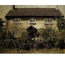 English Cottage Photographic Print
