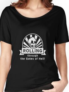 ROLLING through the Gates of Hell! (Murray - Monkey Island 3) Women's Relaxed Fit T-Shirt