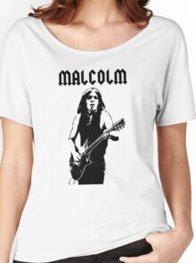 ACDC Malcolm Young Guitar Women's Relaxed Fit T-Shirt