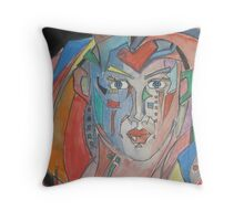 Pieces of Passion Throw Pillow