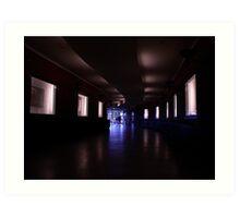 Tunnel to Trasa W-Z Art Print
