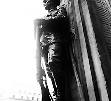 World War 1 Memorial, Bank, London by Clive Gross