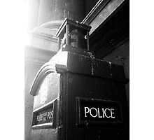 Police Telephone Box, City of London Photographic Print