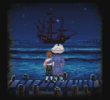 Guybrush & Stan (Monkey Island) Kids Tee