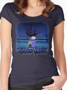 Guybrush & Stan (Monkey Island) Women's Fitted Scoop T-Shirt