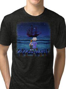 Guybrush & Stan (Monkey Island) Tri-blend T-Shirt