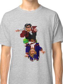 Largo LaGrande and Guybrush (Monkey Island 2) Classic T-Shirt