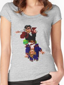 Largo LaGrande and Guybrush (Monkey Island 2) Women's Fitted Scoop T-Shirt