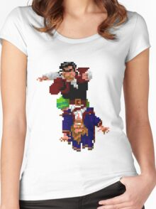 Largo LaGrande and Guybrush (Monkey Island 2) Women's Fitted Scoop T-Shirt
