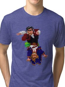 Largo LaGrande and Guybrush (Monkey Island 2) Tri-blend T-Shirt