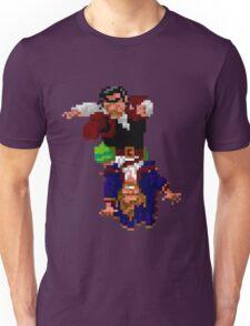 Largo LaGrande and Guybrush (Monkey Island 2) Unisex T-Shirt