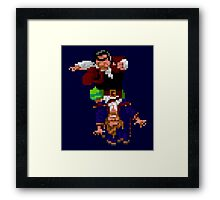 Largo LaGrande and Guybrush (Monkey Island 2) Framed Print