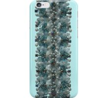 Powder Blue Vintage Bling  iPhone Case/Skin