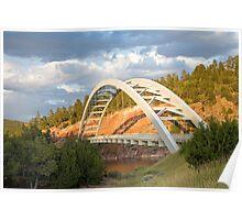 Cart Creek Bridge Poster