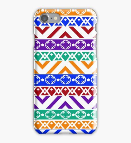 Whimsical Color Pattern iPhone Case/Skin
