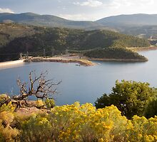 Flaming Gorge Dam by Kim Barton