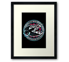 Dragon Racing Framed Print