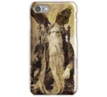 The Satanist by Pierre Blanchard iPhone Case/Skin