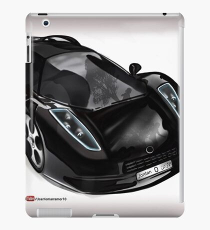 Omar Edition Car iPad Case/Skin