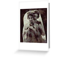 Succubus by Pierre Blanchard Greeting Card