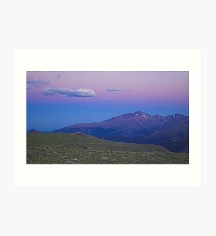 Alpenglow, Colorado Art Print